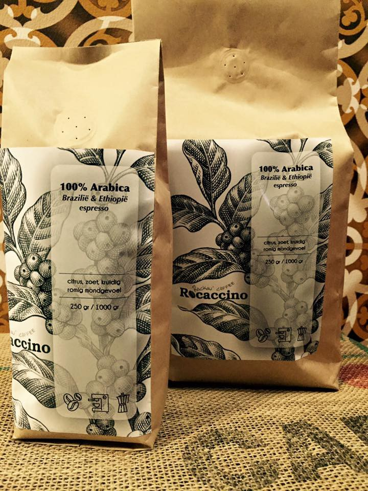 Rocaccino Koffiepakken